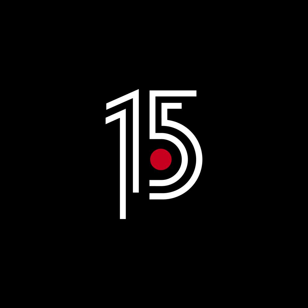 Punt TV Comunicació Audiovisual 15 anys Disculpi Studio Disseny Grafic Vilafranca del Penedes Graphic Design Barcelona Angels Pinyol Carla Elias  1024x1024 - PUNT TV. Disseny logotip 15 anys. Vilafranca del Penedès.
