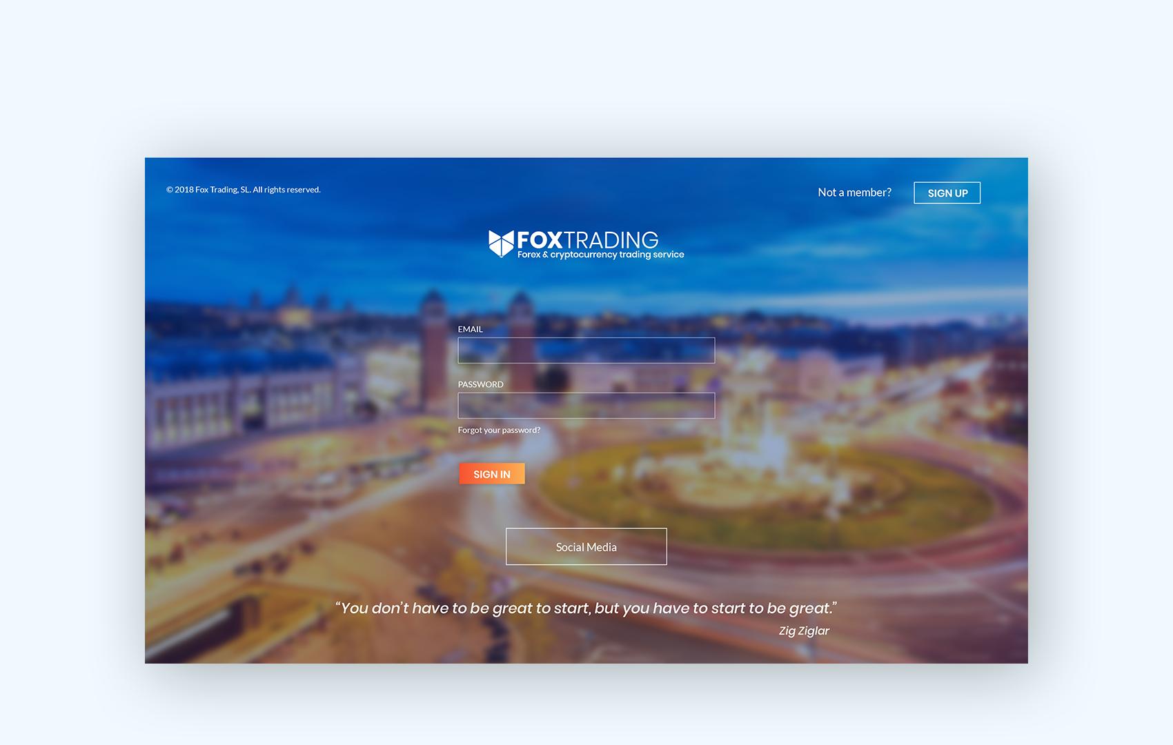 disculpi-fox-trading-rebranding-crypto-vilafranca-penedes-disseny-grafic-web